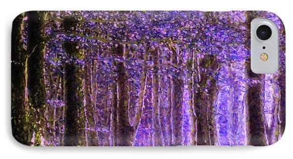 Magic Forest - Impressionism IPhone Case