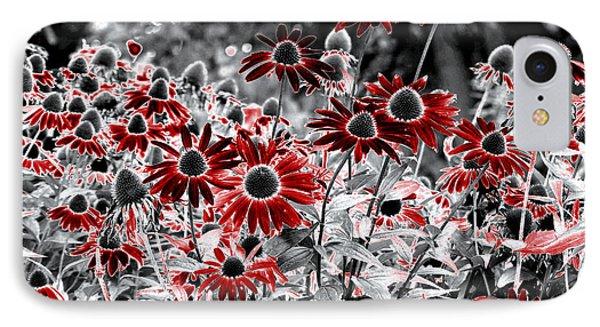 IPhone Case featuring the digital art Magic Garden by Leo Symon