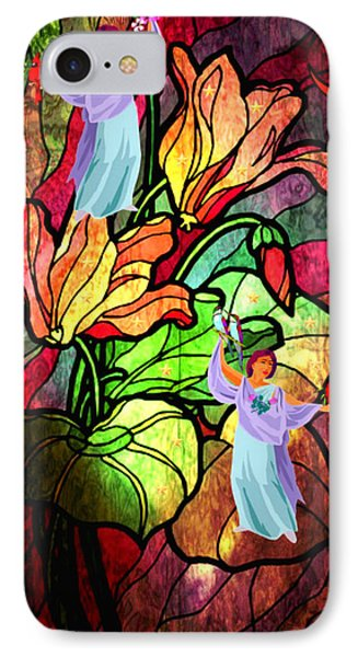 Magic Garden IPhone Case by Mary Anne Ritchie
