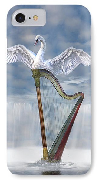 Magic Harp  IPhone Case by Angel Jesus De la Fuente