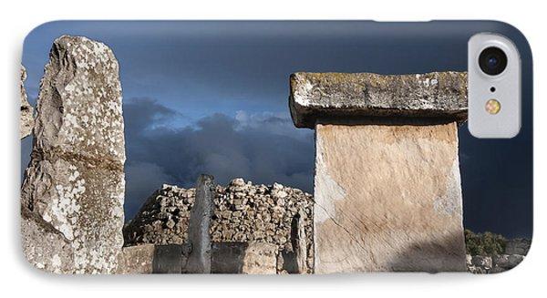 Bronze Edge In Minorca Called Talaiotic Age Unique At World - Magic Island 1 IPhone Case by Pedro Cardona