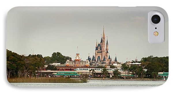 IPhone Case featuring the photograph Magic Kingdon - Walts Magical Place by John Black