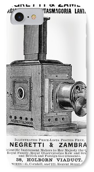 Magic Lantern, 1891 IPhone Case by Granger