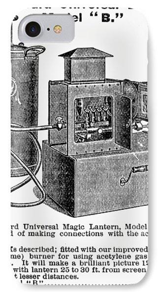 Magic Lantern, 1900 IPhone Case by Granger