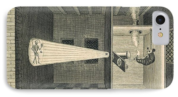 Magic Lantern Display, 17th Century IPhone Case by Science, Industry And Business Library