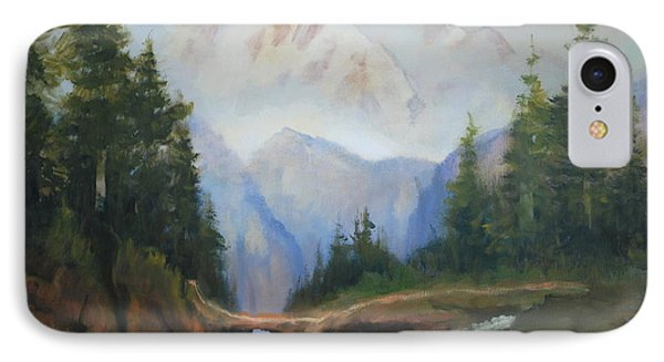 Magic Mountain IPhone Case by Richard Hinger