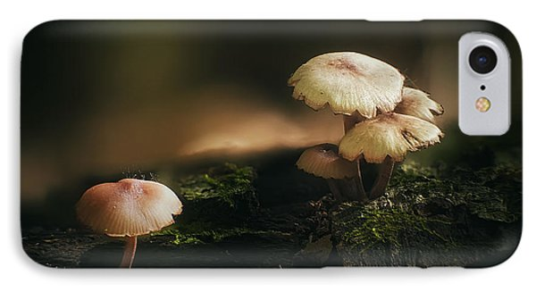 Magic Mushrooms IPhone Case by Scott Norris