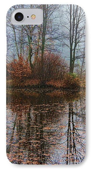 Magic Reflection IPhone Case by Mariola Bitner