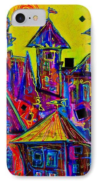 Magic Town 2 IPhone Case by Maxim Komissarchik