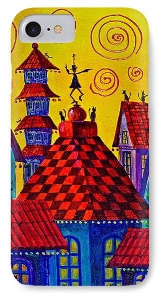 Magic Town 4 IPhone Case by Maxim Komissarchik