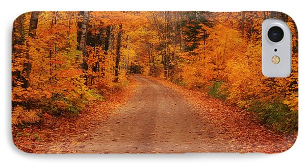 Magical Autumn Mystery IPhone Case by Rachel Cohen