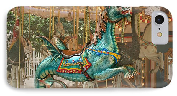 Magical Carousel IPhone Case by Sabrina L Ryan