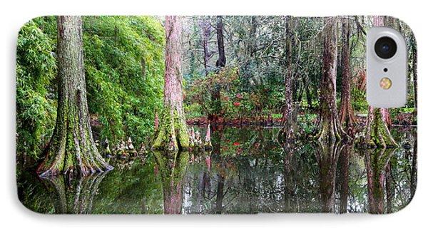 Magical Cypress Swamp Phone Case by Carol Groenen
