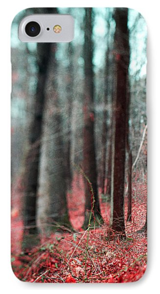 Magical Forest IPhone 7 Case by Kim Fearheiley