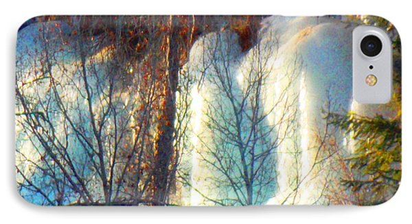 IPhone Case featuring the photograph Magical Ice Wall I by Anastasia Savage Ealy