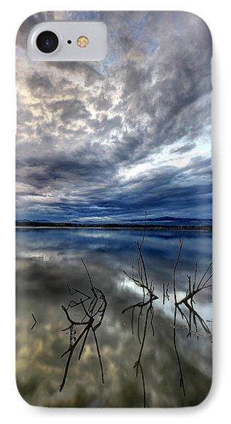Magical Lake - Vertical IPhone Case