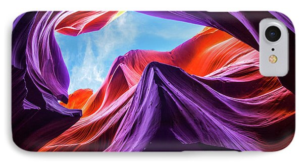 Magical Lower Antelope Canyon IPhone Case
