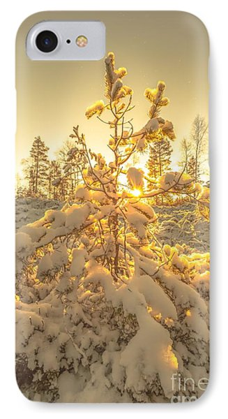 Magical Moments In The Middle Of January IPhone Case by Rose-Maries Pictures
