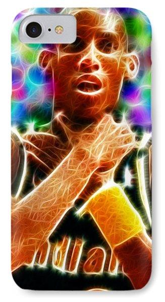 Magical Reggie Miller Choke Phone Case by Paul Van Scott