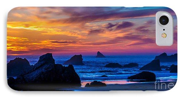 Magical Sunset - Harris Beach - Oregon IPhone Case by Gary Whitton