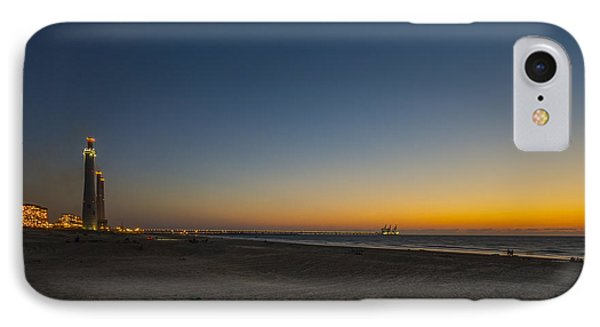 magical sunset moments at Caesarea  Phone Case by Ron Shoshani