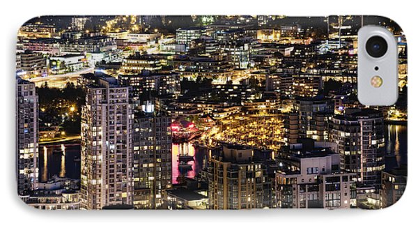 IPhone Case featuring the photograph Magical Yaletown Harbor Mdxlix by Amyn Nasser