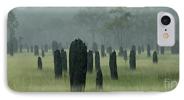 Magnetic Termite Mounds Phone Case by Bob Christopher
