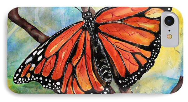 Magnificant Monarch IPhone Case