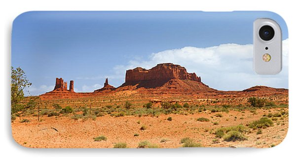 Magnificent Monument Valley Phone Case by Christine Till