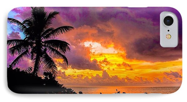 Magnificent Sunrise IPhone Case by Don Durfee