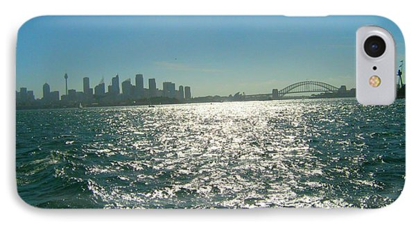 IPhone Case featuring the photograph Magnificent Sydney Harbour by Leanne Seymour