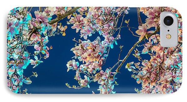 Magnolia-greenlight IPhone Case