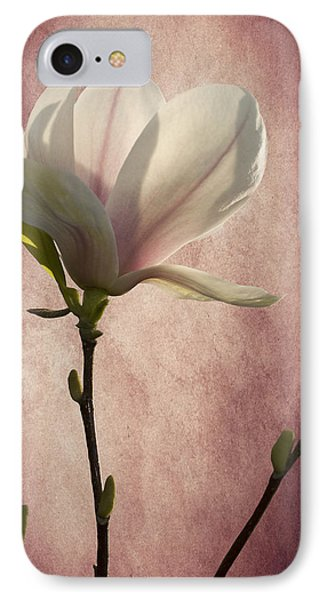 IPhone Case featuring the photograph Magnolia by Ann Lauwers