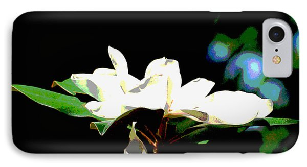 IPhone Case featuring the photograph Magnolia Blossom by Linda Cox