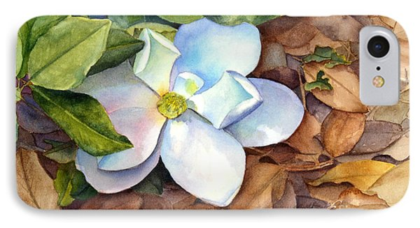 IPhone Case featuring the painting Magnolia by Bonnie Rinier
