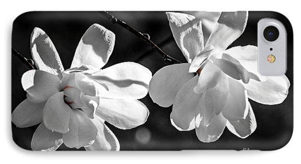 Magnolia Flowers IPhone Case by Elena Elisseeva