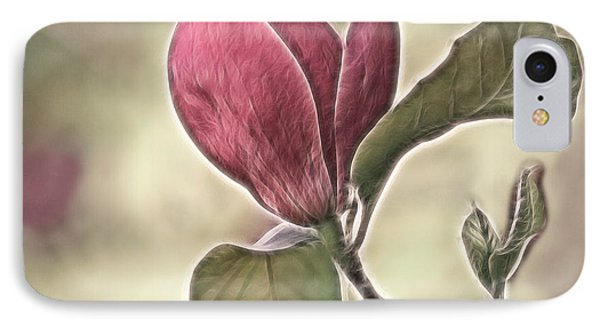 Magnolia Glow Phone Case by Susan Candelario