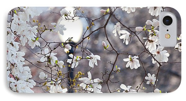 Magnolia Impression 2 IPhone Case by Susan Cole Kelly Impressions
