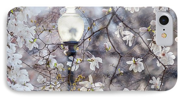 Magnolia Impression Blend IPhone Case by Susan Cole Kelly Impressions