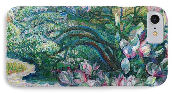 Magnolia In Ordrupgaard IPhone Case