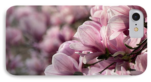 Magnolia Layers 2 IPhone Case by Rob Amend