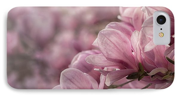 Magnolia Layers IPhone Case by Rob Amend