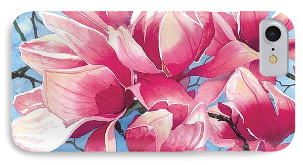 Magnolia Medley IPhone Case by Barbara Jewell