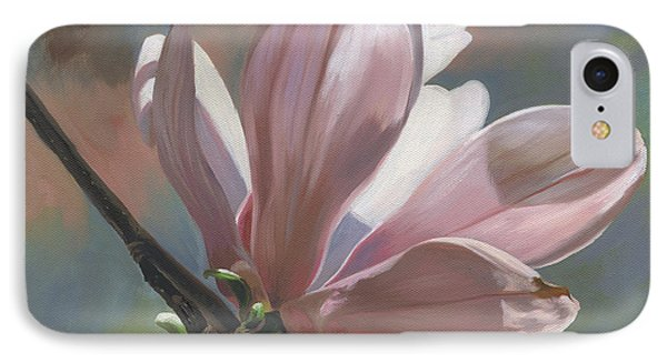 Magnolia Petals IPhone Case by Alecia Underhill