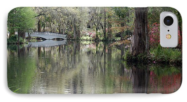 Magnolia Plantation Gardens Series II Phone Case by Suzanne Gaff
