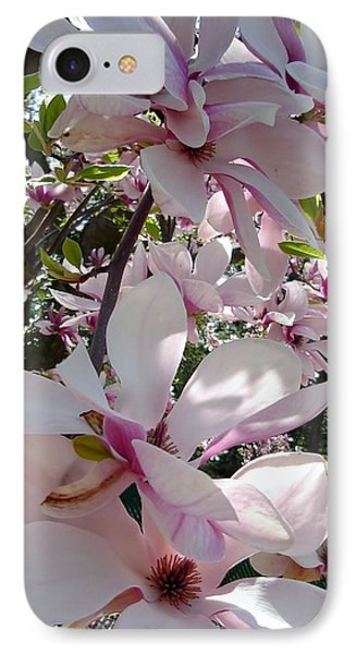 Magnolias In The Shade IPhone Case