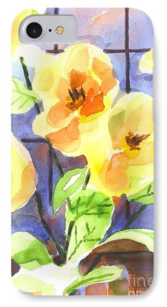 IPhone Case featuring the painting Magnolias by Kip DeVore