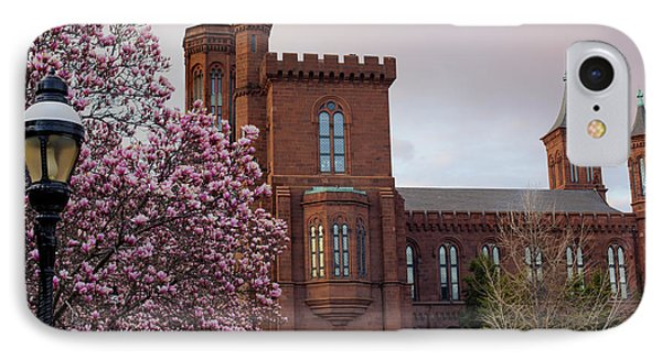 Magnolias Near The Castle Phone Case by Andrew Pacheco