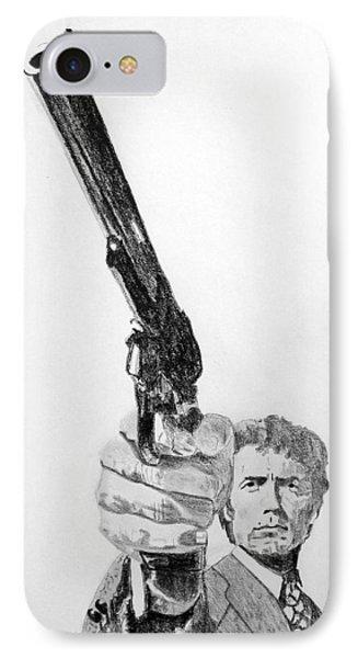 Magnum Force Clint Eastwood IPhone Case