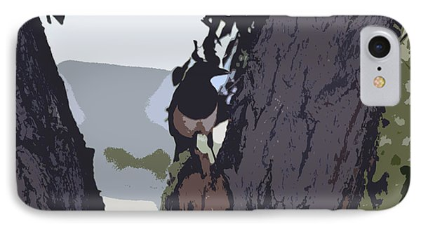 Magpie Morning  IPhone Case